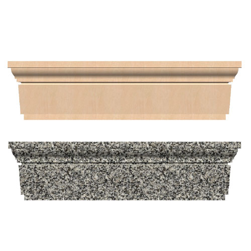 Cast Stone Mouldings : Quot cast stone header cornerstone architectural products llc