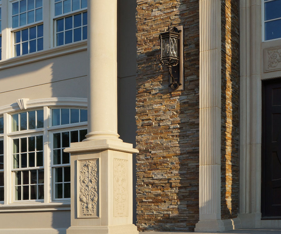 Custom Cast Stone Trim