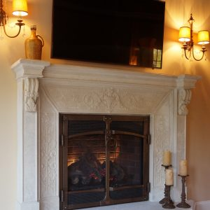 Tuscany Fireplace Mantel