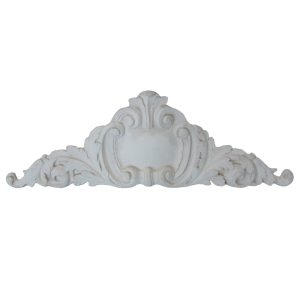 Center Cartouche Cast Stone Frieze