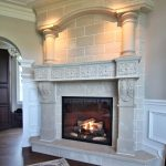 Provencal Fireplace Mantel