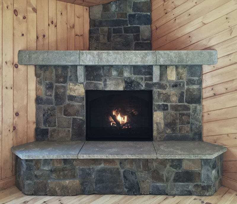 Acadia Fireplace Mantel Cornerstone Architectural