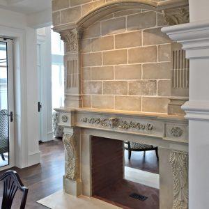 Chateau Fireplace Mantel Cornerstone Architectural